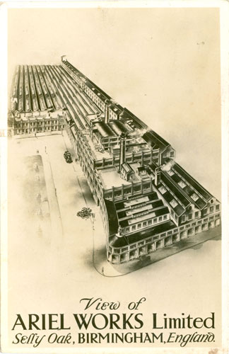 1930 Postcard of the Factory